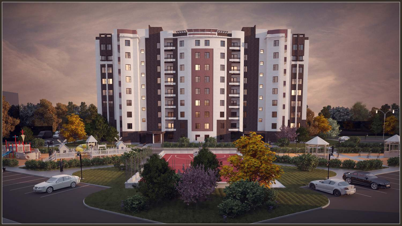 Двухсекционный многоквартирный жилой дом в г. Белоусово