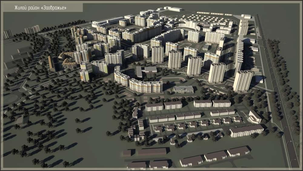 Корректировка проекта Планировки Территории Заовражье