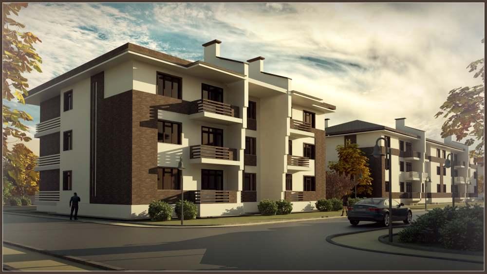Комплекс малоэтажной жилой застройки в районе д. Квань, Калужская область
