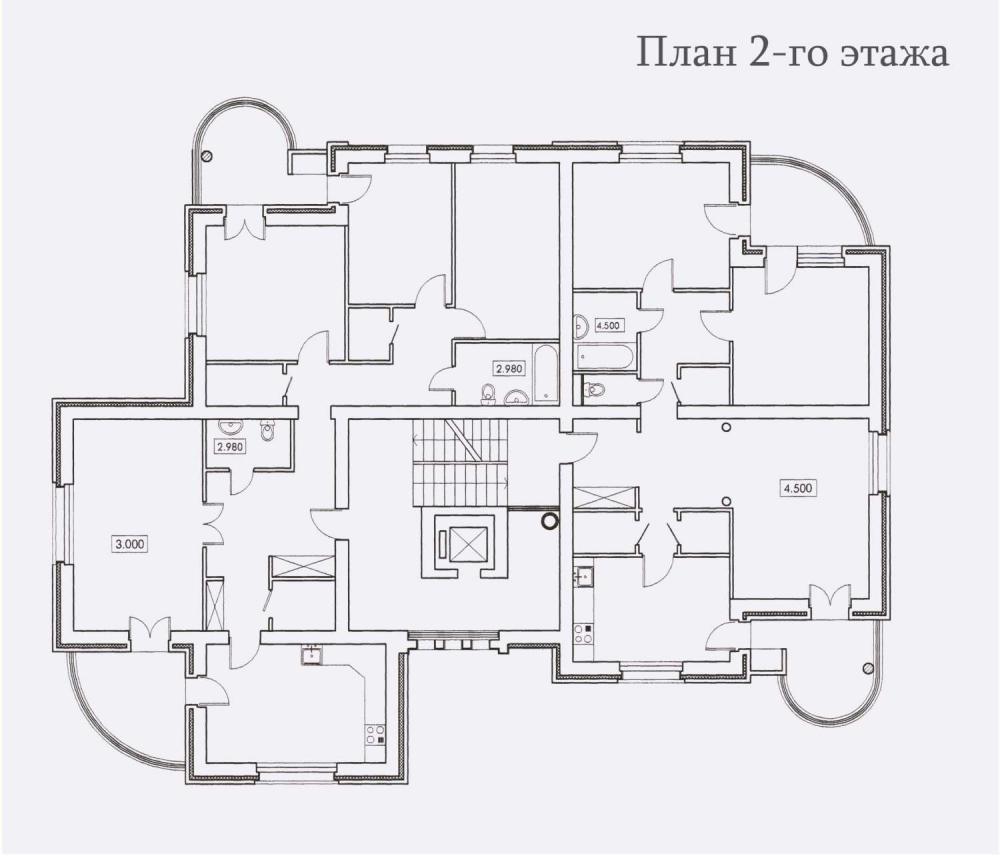 Комплекс жилой застройки по улице Звездной, г. Обнинск