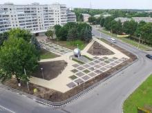 Памятник Первопроходцам атомной энергетики, г. Обнинск