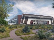Дизайн-проект фасадного решения Торгового центра в г. Обнинске